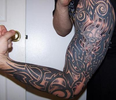 Repricie Full Sleeve Tattoo Designs Black And Grey Celtic