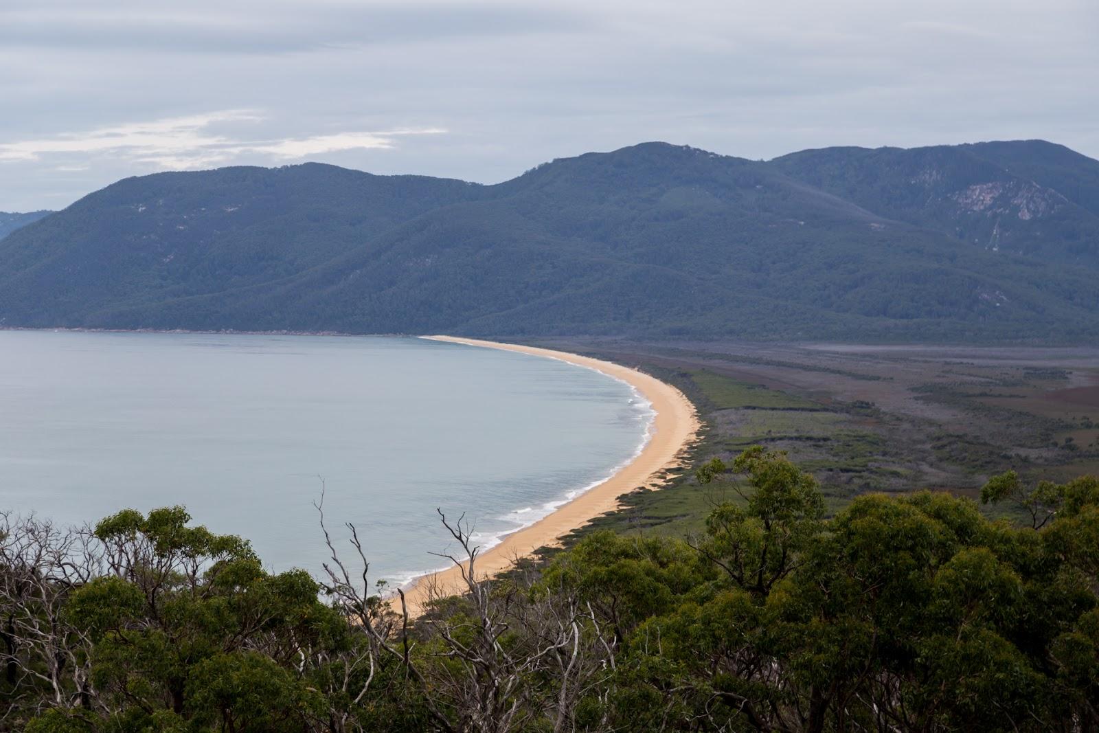 five mile beach wilsons promontory