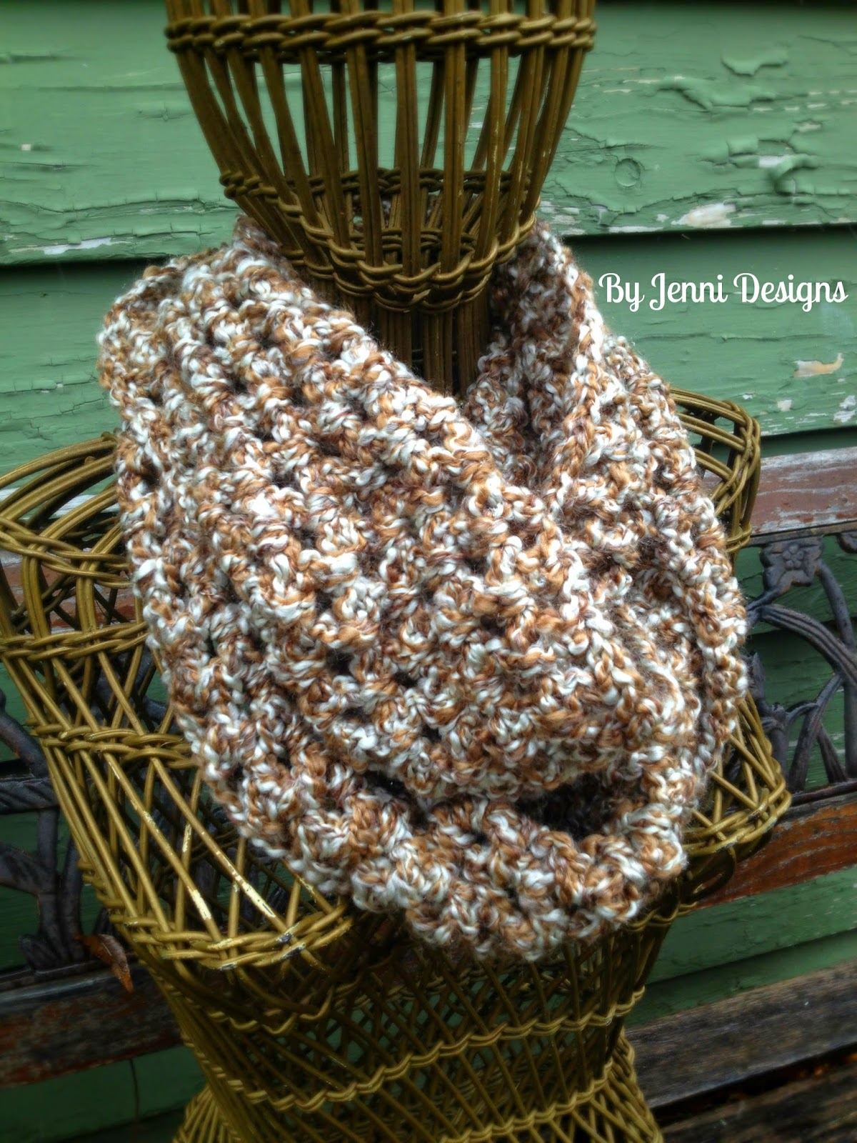By Jenni Designs: Free Crochet Pattern: 2 Strand Homespun ...