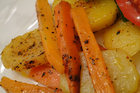 Legumes e Cogumelos Salteados (vegana)