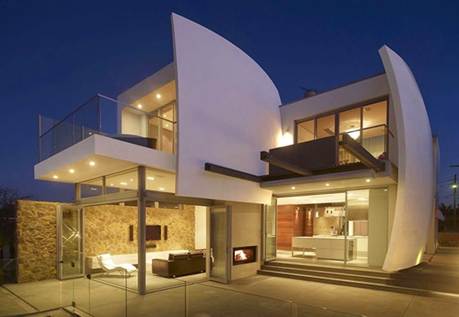Design with Futuristic Architecture in Australia Luxurious Design