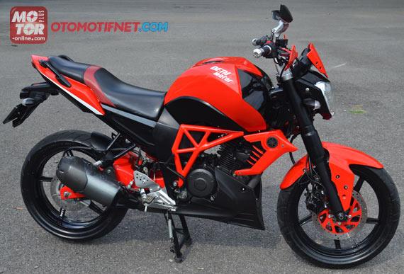 Modifikasi Yamaha Byson 2013