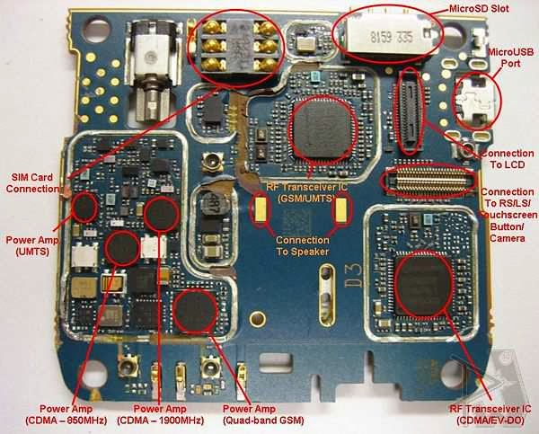All Gsm Tricks  Blackberry Storm 9500 Pcb Schematic    Diagram