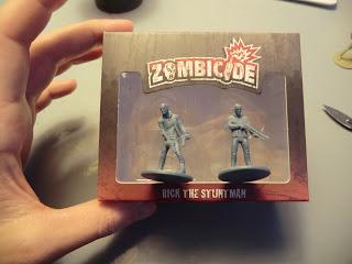 Zombicide, Kickstarter, unboxing, Season ii, Dogs, Zombie, Rick