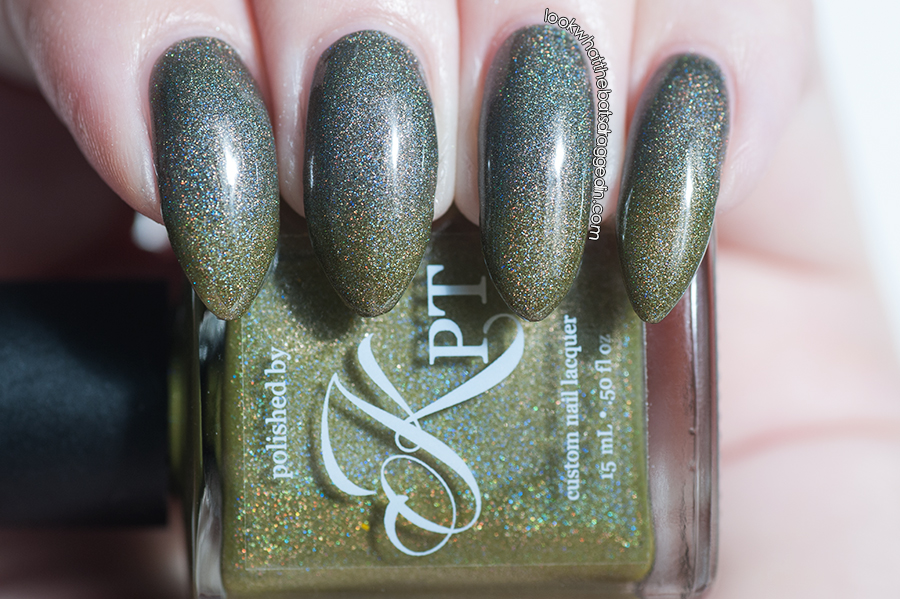 Polished by KPT Fall O You thermal nail polish swatch