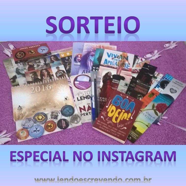 #Sorteio especial no instagram