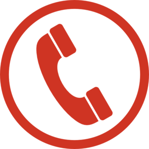 Red phone indicating emergency number for DAN- Divers Alert Network