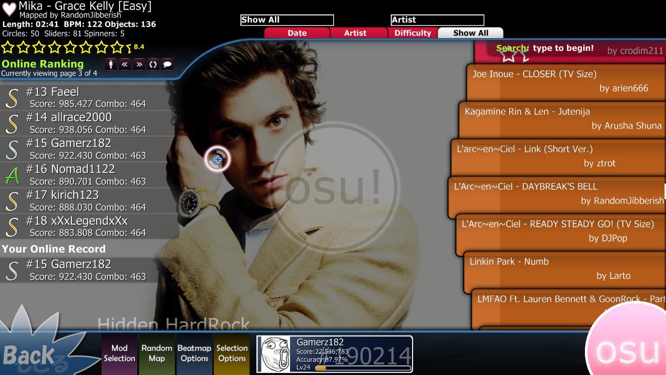 Osu! Game | Game Berbasis Lagu/Musik Yang Seru