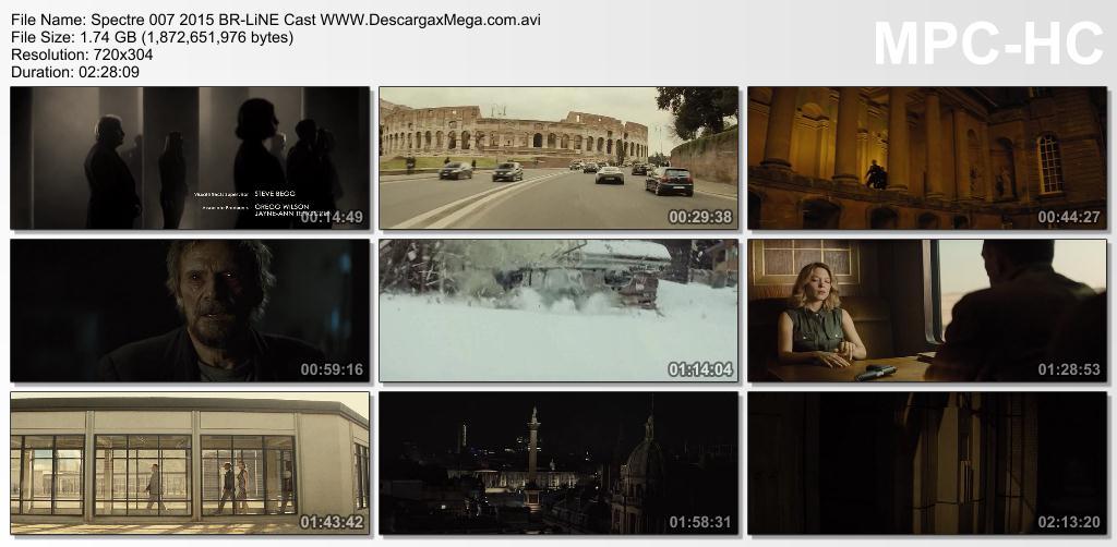 Spectre 007 2015 Blu Ray Rip Español España