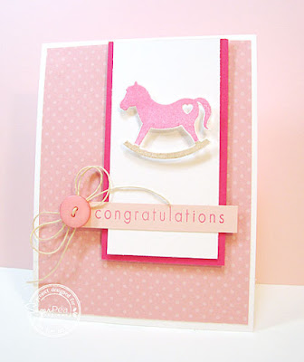 Baby Congratulations card-designed by Lori Tecler/Inking Aloud-stamps from SugarPea Designs