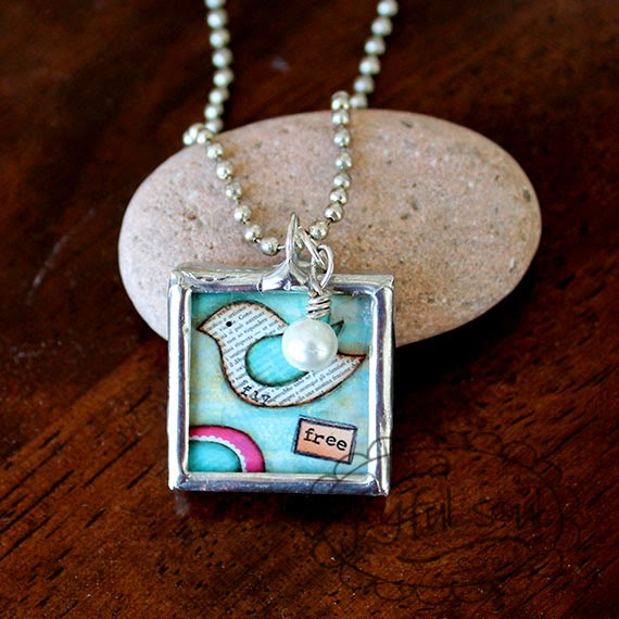 A Joyful Soul, Fly Free Charm Necklace, www.ajoyfulsoul.com