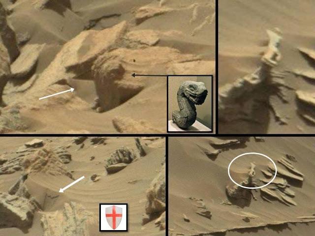 Medieval knight found on mars