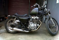 MODIFIKASI KAWASAKI BINTER MERZY-MODIFIKASI 1983-chopper