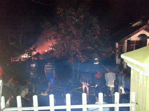 Musibah Kebakaran Melanda Rumah Ibu Nursam Chaniago