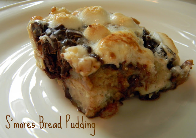 S'more Bread Pudding