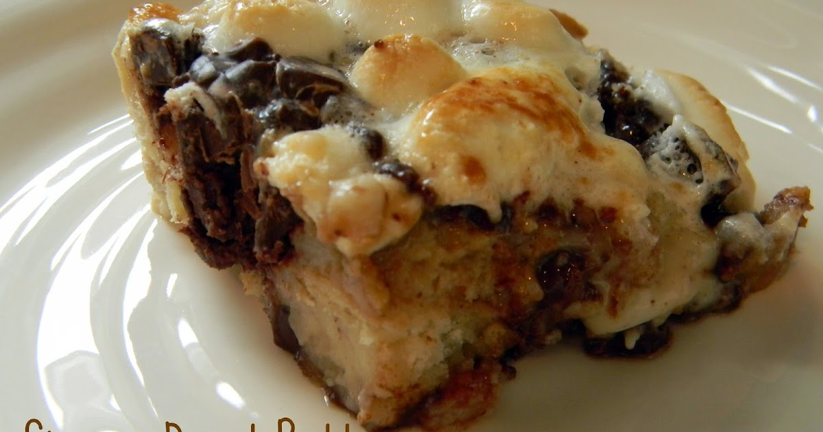 freaked out 'n small: S'mores Bread Pudding