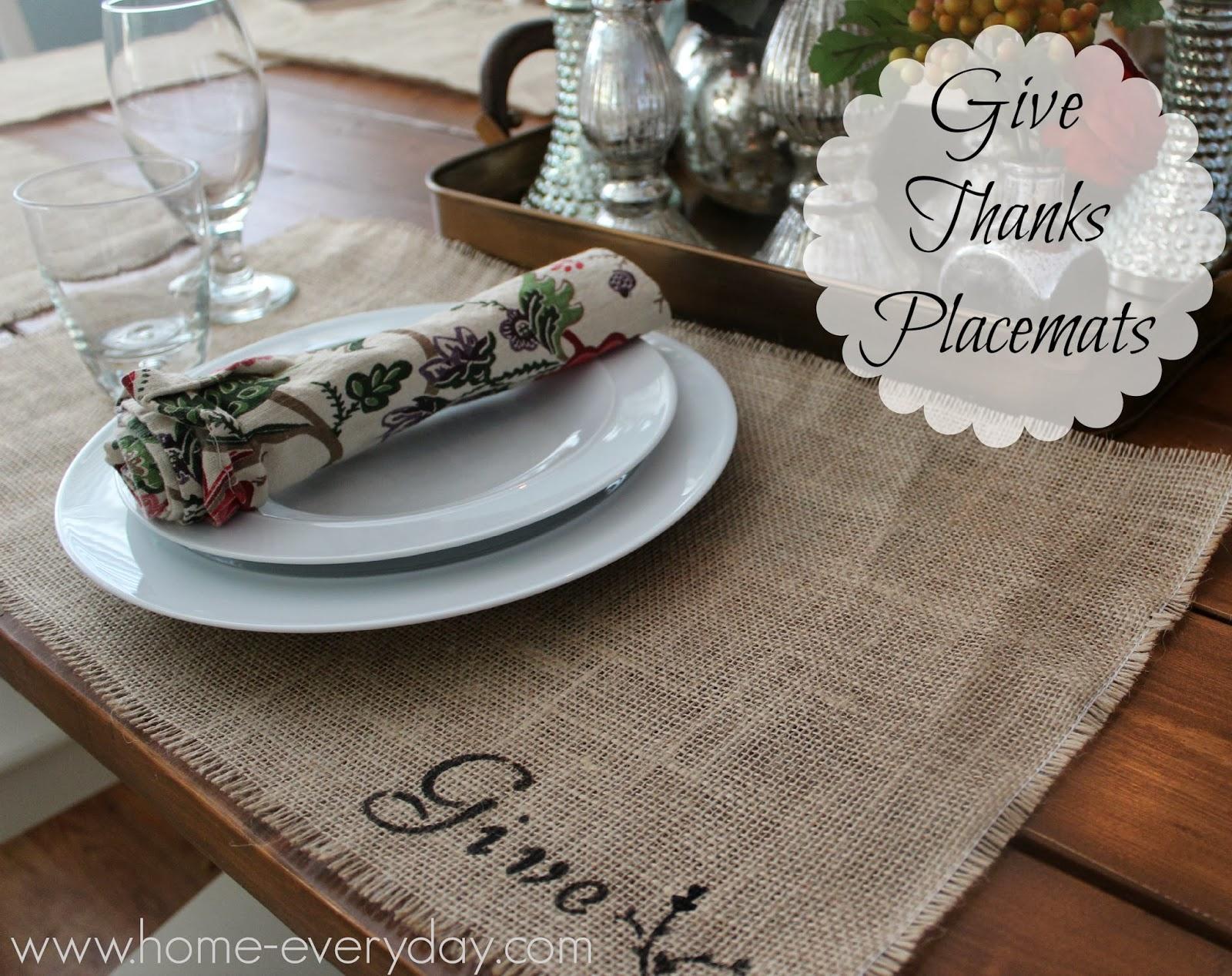 give thanks place mats a joann fabric celebrate the season craft