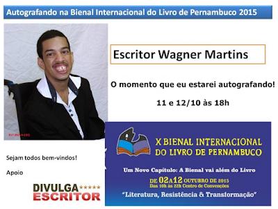 Bienal PE 2015 - Wagner Martins - Entrevistado