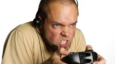 angry white male gamer