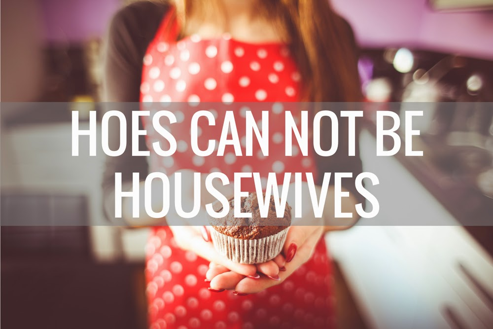 hoes can not be housewives