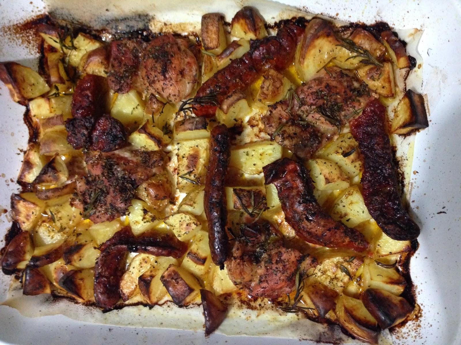 Nigella Lawson's Italian Traybake from Nigellissimia