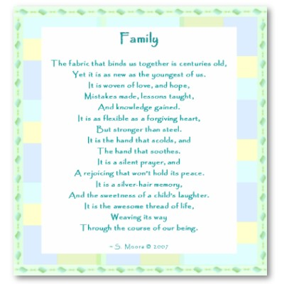 Family, Culture, and Religion: Family