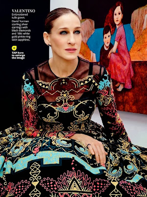 Sarah Jessica Parker HQ Pictures InStyle US Magazine Photoshoot February 2014