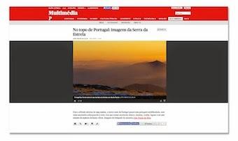 Galeria multimédia sobre a Serra da Estrela no site Jornal PÚBLICO