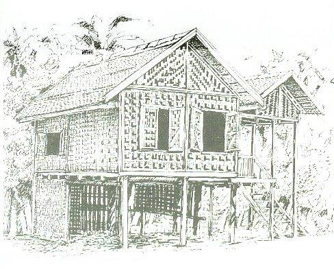 sketch 4 gambar bentuk sketsa rumah untuk mata kuliah