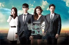 You Who Came From the Stars aka My Love From Another Star poster.