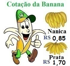 Cotação da Banana