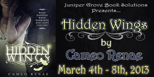 REVIEW AND GIVEAWAY: Hidden Wings by Cameo Renae