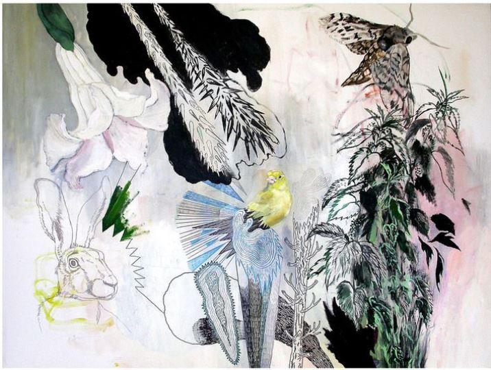 natur, dyr og stemning i et print