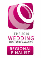 CONGRATULATIONS! I am delighted to tell you that The Dimblebee Catering Company Ltd are a REGIONAL FINALIST in The 2014 Wedding Industry Awards.
