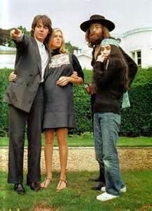 Paul,Linda,John, Yoko