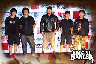 Emosi Bangsa Band Metalcore / Deathcore Medan Sumatera Utara Indonesia Foto Logo Artwork Cover Wallpaper