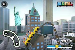 3D Rollercoaster Rush New York 1.1 Apk Free Download