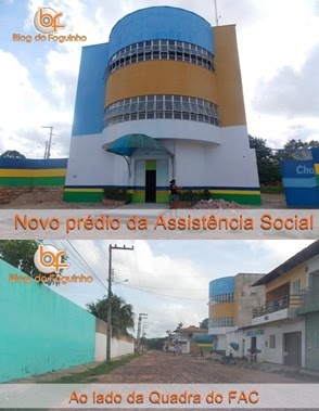 Futuras instalaes da Secretaria de Assistncia Social de Chapadinha