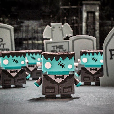 """Frankenbot"" JellyBot Resin Figures by The Jelly Empire"