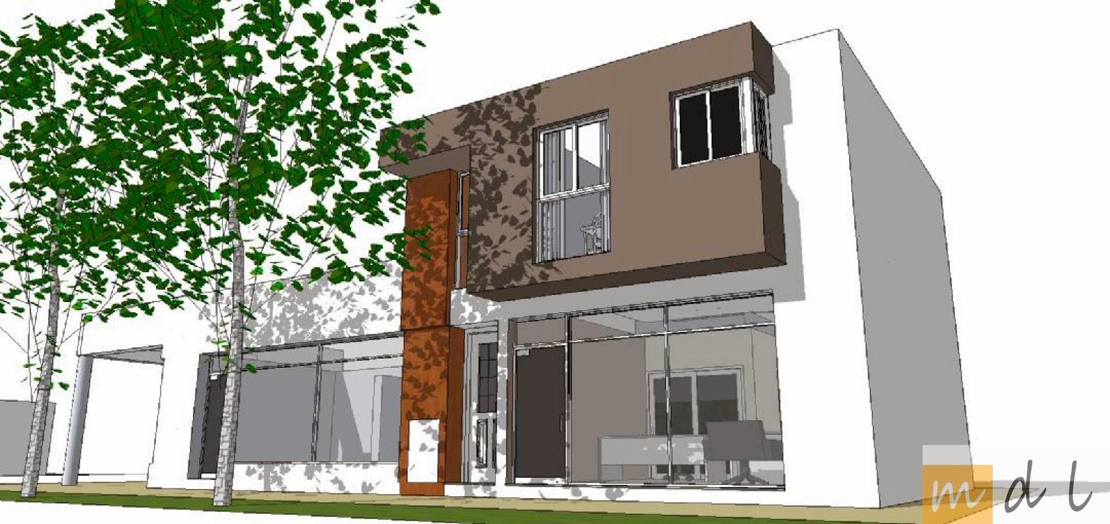 Arquitecta miriam di leo proyecto de local comercial y departamentos reconquista enero 2014 - Proyecto local comercial ...