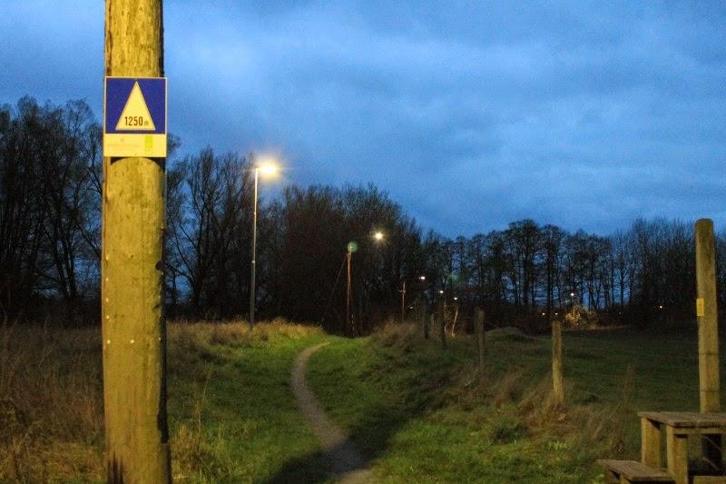 Sentiero illuminato