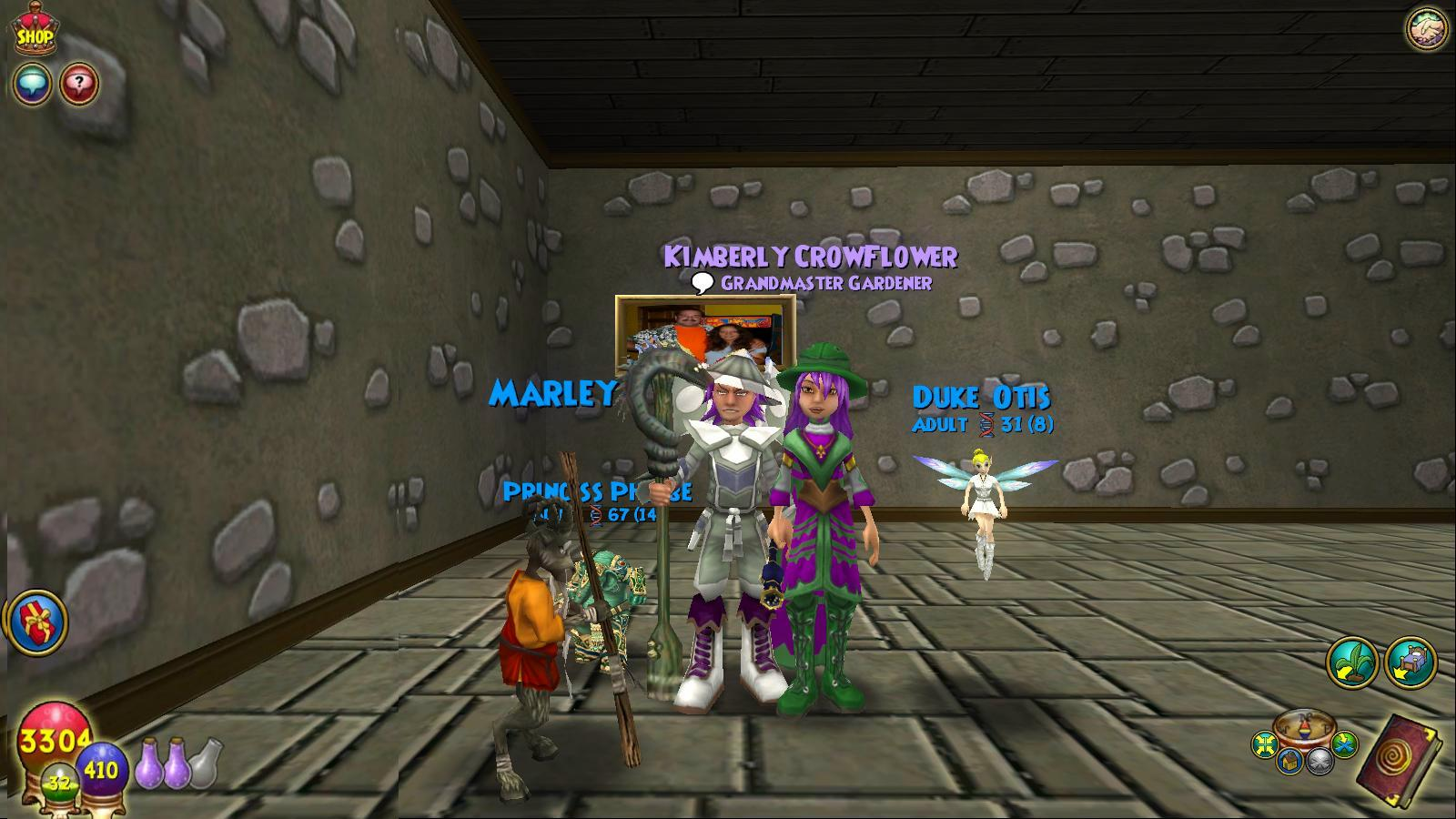 Friendly that s cool have you tried the derby racing in wizard101 at