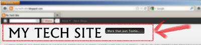 MyTechSite Banner