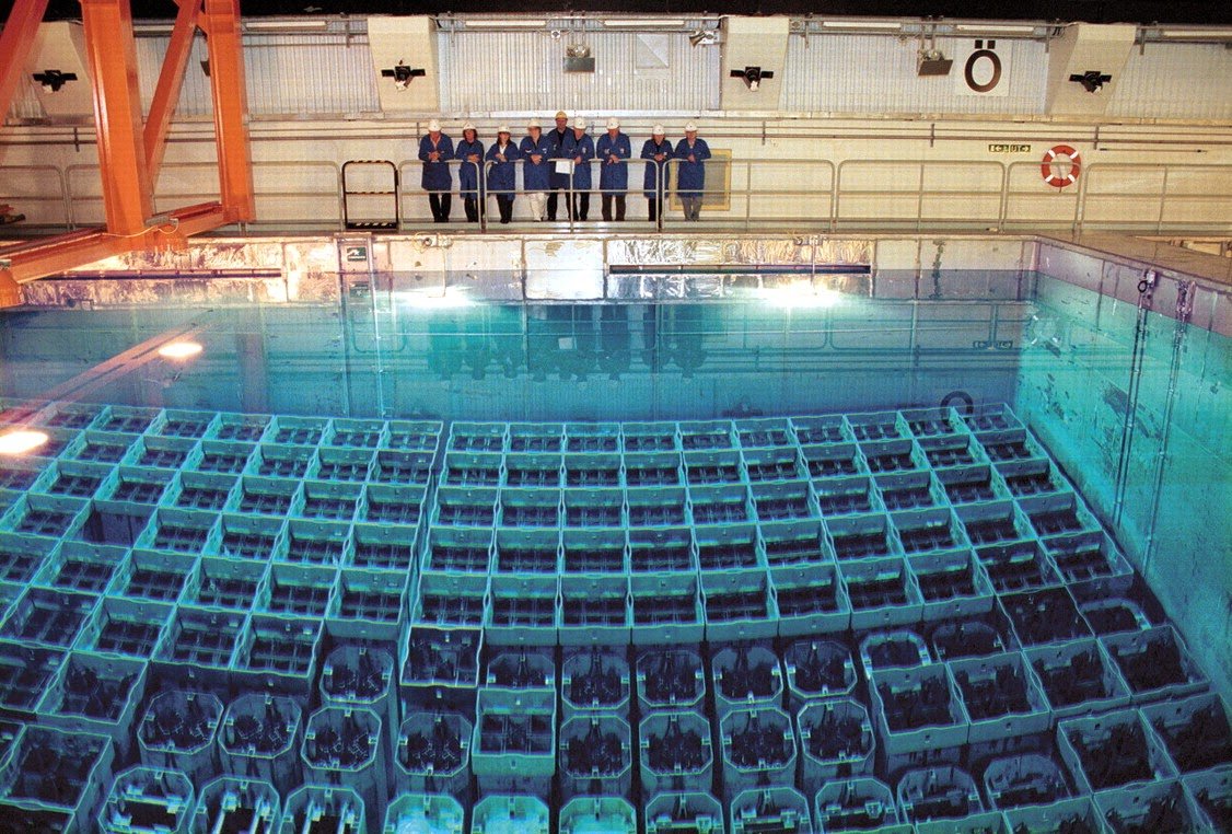 Uranium Plutonium Nuclear Mox Waste Power Plant Mining