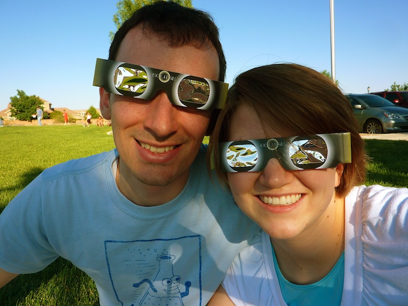Sunshine lollipops and rainbows the solar eclipse for What happens if you don t wear solar eclipse glasses