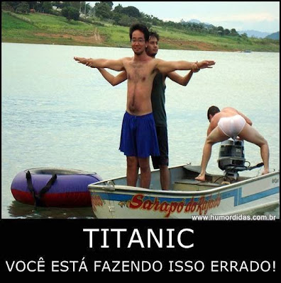 Titanic, você está fazendo isso errado!!
