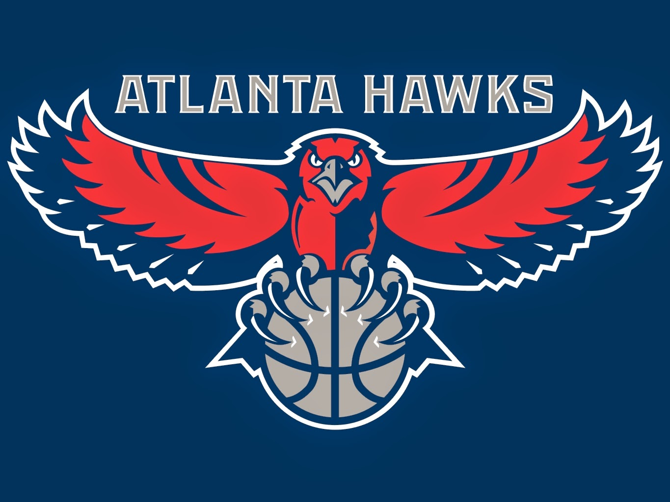 Atlanta Hawks wallpapers background blue