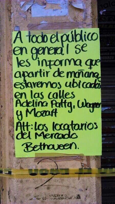 """MERCADO """"BEETHOVEN"""" EN PIE DE LUCHA"""
