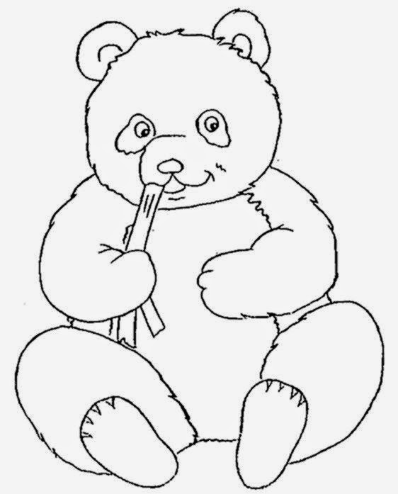 giant panda coloring pages - photo#18
