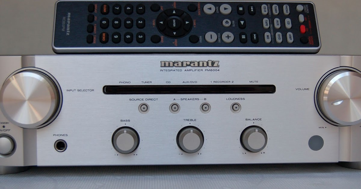 hi-fi-review: Marantz PM6004 Review